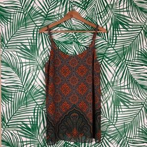 Cabi #3082 Arabesque Camisole Tank size Medium